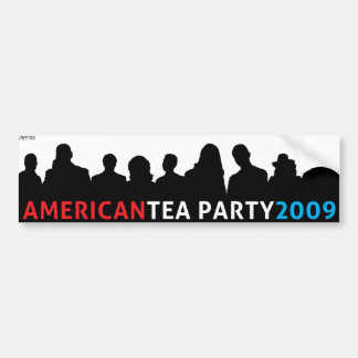 American Tea Party 2009 Bumper Sticker