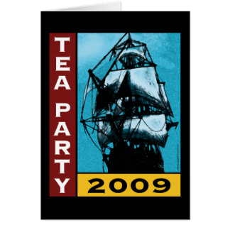 American TEA Party 2009 Greeting Card