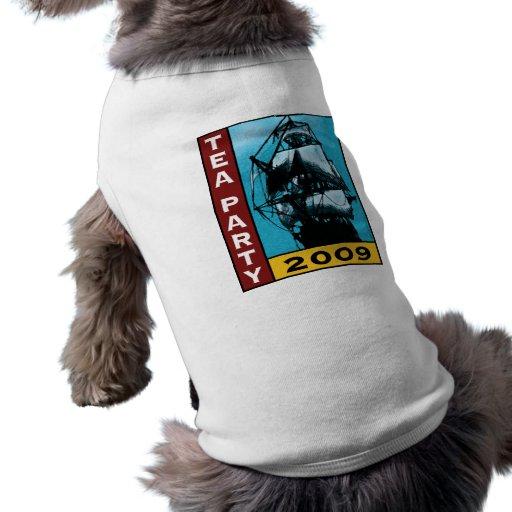 American TEA Party 2009 Dog Tshirt