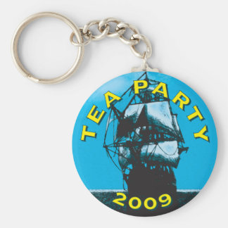 American TEA Party 2009 Keychain