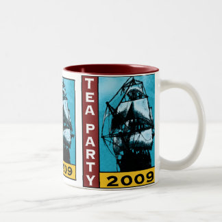 American TEA Party 2009 Two-Tone Coffee Mug