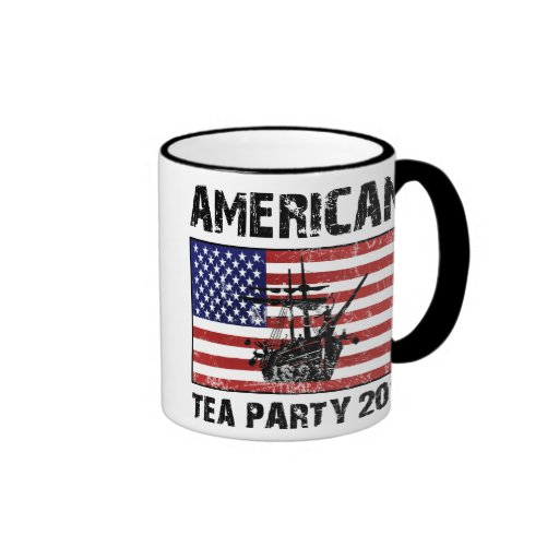 American Tea Party 2011 Ringer Mug