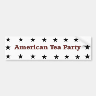 American Tea Party Bumper Sticker