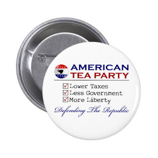 American Tea Party Pin