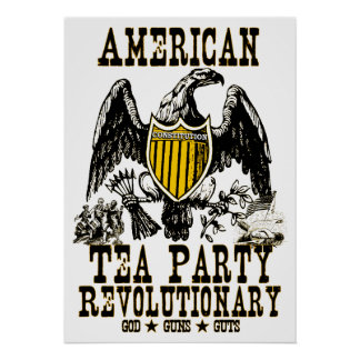 American Tea Party: God, Guns, Guts! Poster