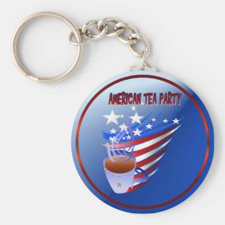 American Tea Party Keychain