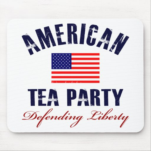 American Tea Party Mouse Pad