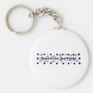 American Tea Party Political Gear Basic Round Button Keychain