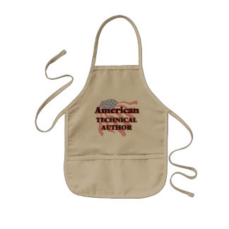 American Technical Author Kids' Apron