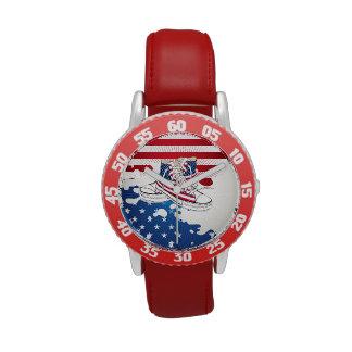 American Teen Kids  Patriotic Shoes Watch