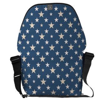 American themed stars messenger bag