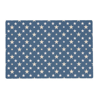 American themed stars placemat