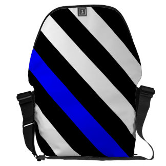 American Thin Blue Line Graphic Messenger Bag