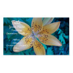 American Tiger Lily Business Card Templates