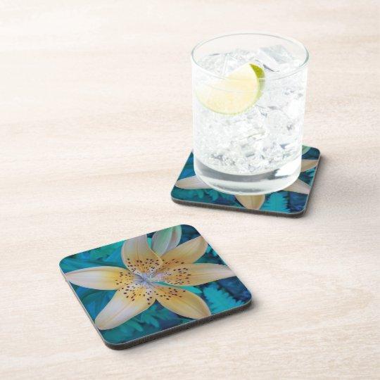 American Tiger Lily Drink Coaster