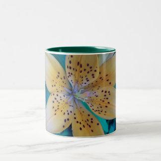 American Tiger Lily Two-Tone Coffee Mug