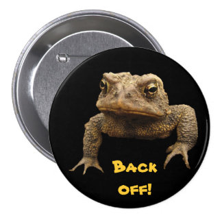 American Toad 3 Inch Round Button