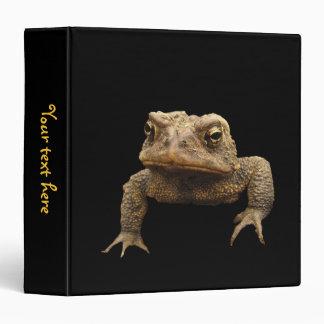 American Toad 3 Ring Binder