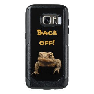 American Toad Back Off OtterBox Galaxy S7 Case