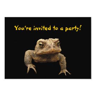 American Toad Invitation