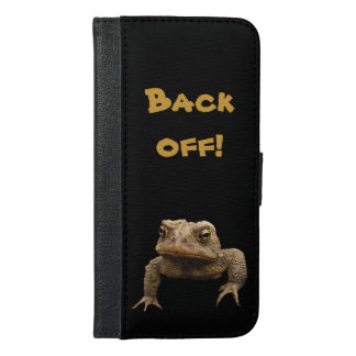 American Toad iPhone 6 Plus Wallet Case