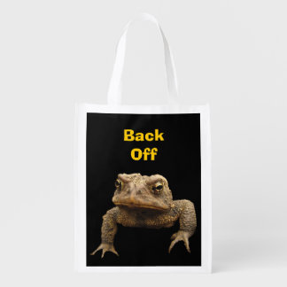 American Toad Reusable Grocery Bag