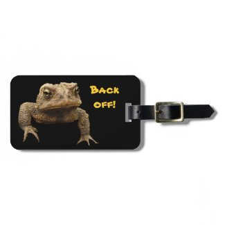 American Toad Tags For Bags