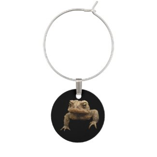 American Toad Wine Charm