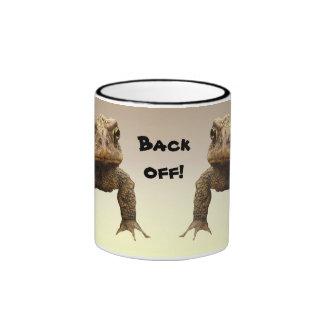American Toads Back Off Mugs