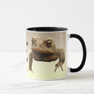 American Toads Make My Day Mug