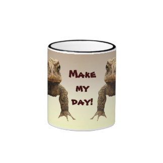 American Toads Make My Day Mugs