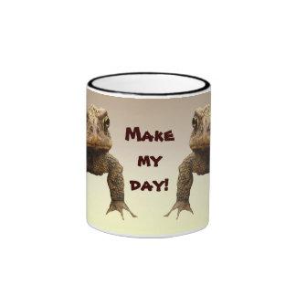 American Toads Make My Day Ringer Mug