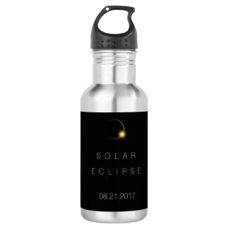 American Total Solar Eclipse  2017 Stainless Steel Water Bottle