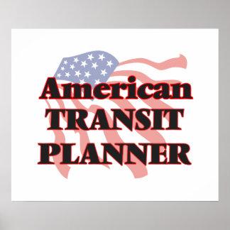 American Transit Planner Poster
