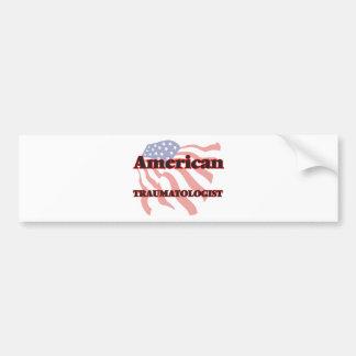 American Traumatologist Car Bumper Sticker
