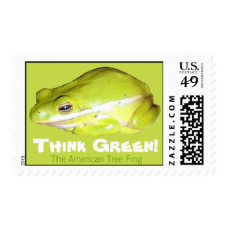 American Tree Frog First Class Postage Stamp
