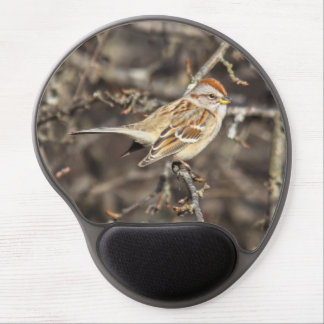 American Tree Sparrow Gel Mouse Pad