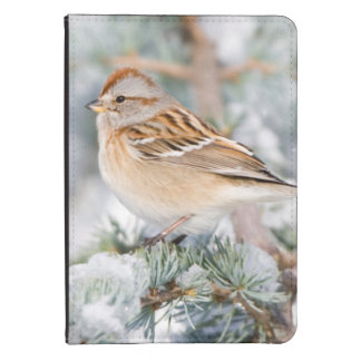 American Tree Sparrow in winter Kindle Touch Case