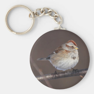 American Tree Sparrow Keychain