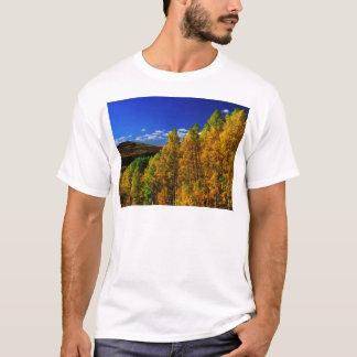 American Trees Fall Season Nature Photography T-Shirt