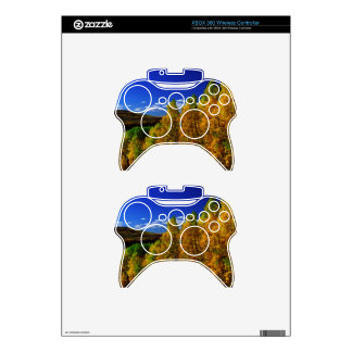 American Trees Fall Season Nature Photography Xbox 360 Controller Decal