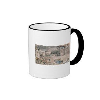 American troops under General Doniphan Ringer Mug
