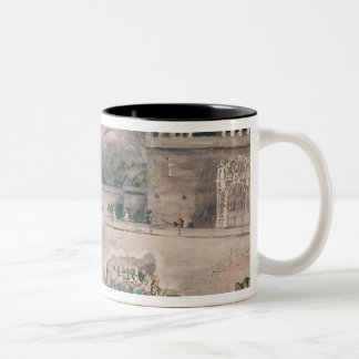 American troops under General Doniphan Two-Tone Coffee Mug