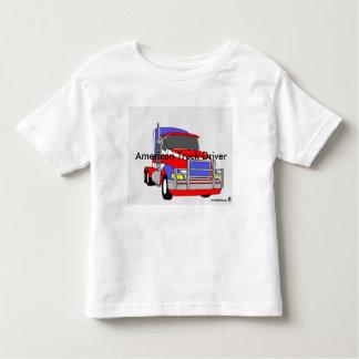 """American Truck Driver"" Toddler T-shirt"