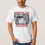 American Trucker T-shirt for American Truck Driver