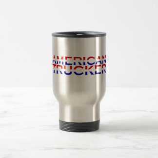 American Trucker Travel Mug