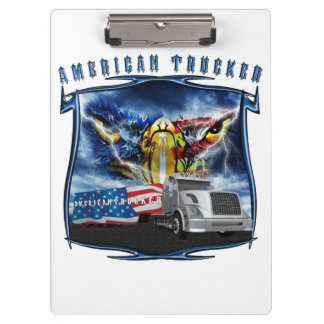 American Truckers Clipboard