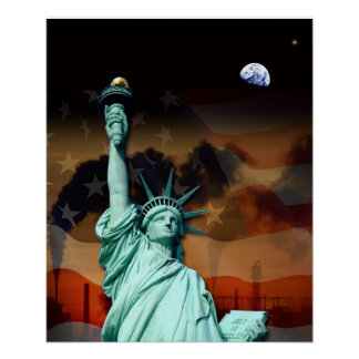 American Twilight Print