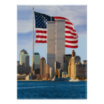 American Twin Towers Poster