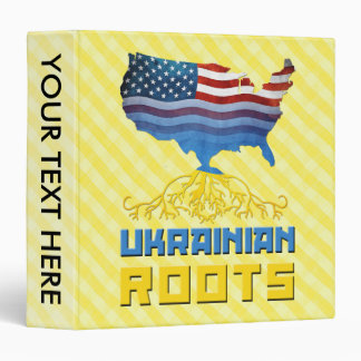 American Ukrainian Roots Binder